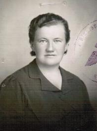 (Filka) Dušková, witness´s grandmother, Zábřeh 1940