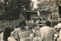 Antirockfest  v Oskavě v roce 1986