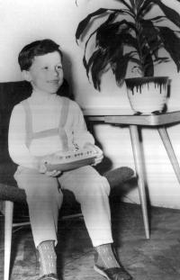 V dětských letech
