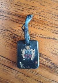 Památka z Terezína, kterou mamince Bedřišky Winklerové věnovala kamaráda Lotte (příjmení si Aviva nepamatovala)