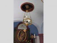 Lampa v kapličce v Liščí - svépomoc