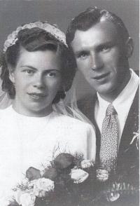 Margit a František Kekulovi (švagrová a švagr)