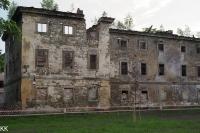 Zřícený zámek v Lipové