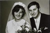 Svatební fotografie Hany a Wernera Hentschelových