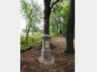 Památník padlým z první světové války v obci Liščí