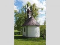 Renovovaná kaple v Liščí zezadu