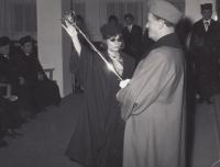 Graduation in 1970