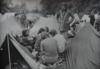 Účastníci poutě v Čenstochové