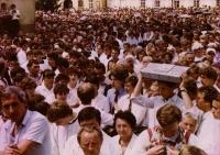 Pouť na Velehrad 1985