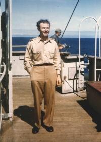 Jan na palubě mohutné cestovní lodě Queen Elizabeth