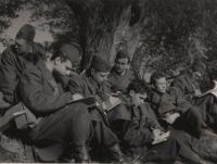 Na vojně v roce 1968