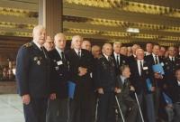 Znovu Kongresový palác na pražské Pankráci a setkání československých letců (i těch, kteří přiletěli z Anglie) v roce 1992