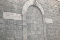 Jeruzalém – vchod do Pilátova domu, kde byl Ježíš odsouzen k smrti