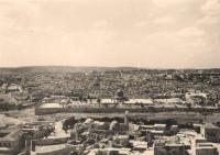 Jeruzalém – panoramatický pohled z Olivové hory