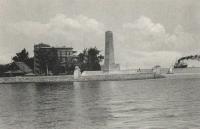 Přístav v Suezském průplavu