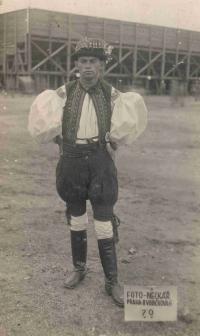 Stanislav Navrátil, her father