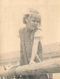 Stanislava as a child