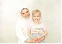 S dítětem z ústavu na Stojanově