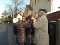 Setkání s pamětníkem, ulice Ruská v Říčanech