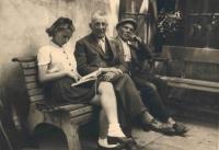 Dagmar Zakopalová s dědečkem Janem Janáčem