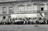 Oslavy osvobození Holešova, nejspíš rok 1965