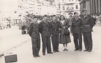 Na vojně v Karlových Varech v letech 1951-53