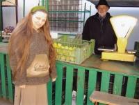 V Plzni na tržišti v březnu 2007