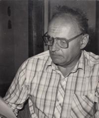 Jaroslav Běl v práci