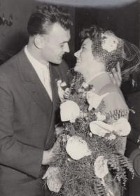 Svatba v roce 1957