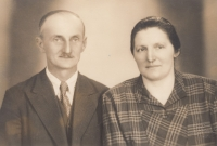 Tatínek Antonín a maminka Josefa