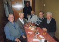Setkání se spolužáky v Plzni roku 2004