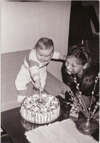 S dcerou Markétou, 1977