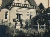 Dům Šírových ve Stráži, okolo roku 1948.