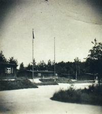 Kasárna ve Stráži, rok 1945.