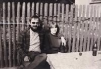 S budoucí manželkou Jaroslavou Benešovou