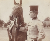 Prastrýc plk. Karel Tiller (rok 1905)