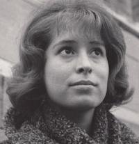 Monika Švábová v roce 1964
