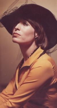 Monika Švábová ve hře Pravda barona Prášila (rok 1978)