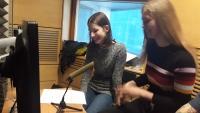 Nahrávání rozhlasové reportáže v rámci projektu Příběhy našich sousedů