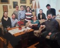 Hana Fousová s rodinou