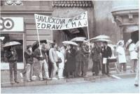Havlíčkova mládež / 1. května 1989 / archiv D. Šidláka