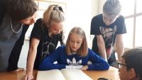 Žáci ZŠ Na Valtické v Mikulovském archivu