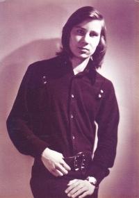 Christian Bürger počátkem osmdesátých let
