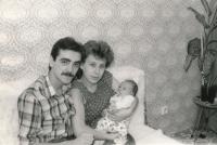 Jan Slezák s rodinou, 1983