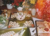 Ukázka pamětníkovy kuchařské práce
