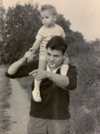 Markus Rindt s otcem
