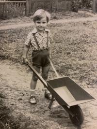 Markus Rindt v dětství
