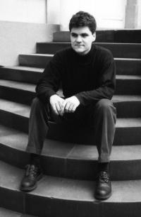 Markus Rindt jako student v NDR