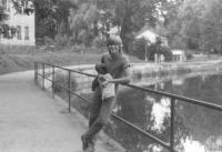 Pavel Šimon v Havlíčkově Brodě / park Budoucnost
