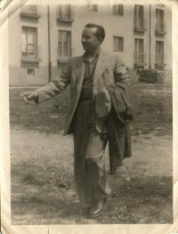 Milan Šagát v mladosti